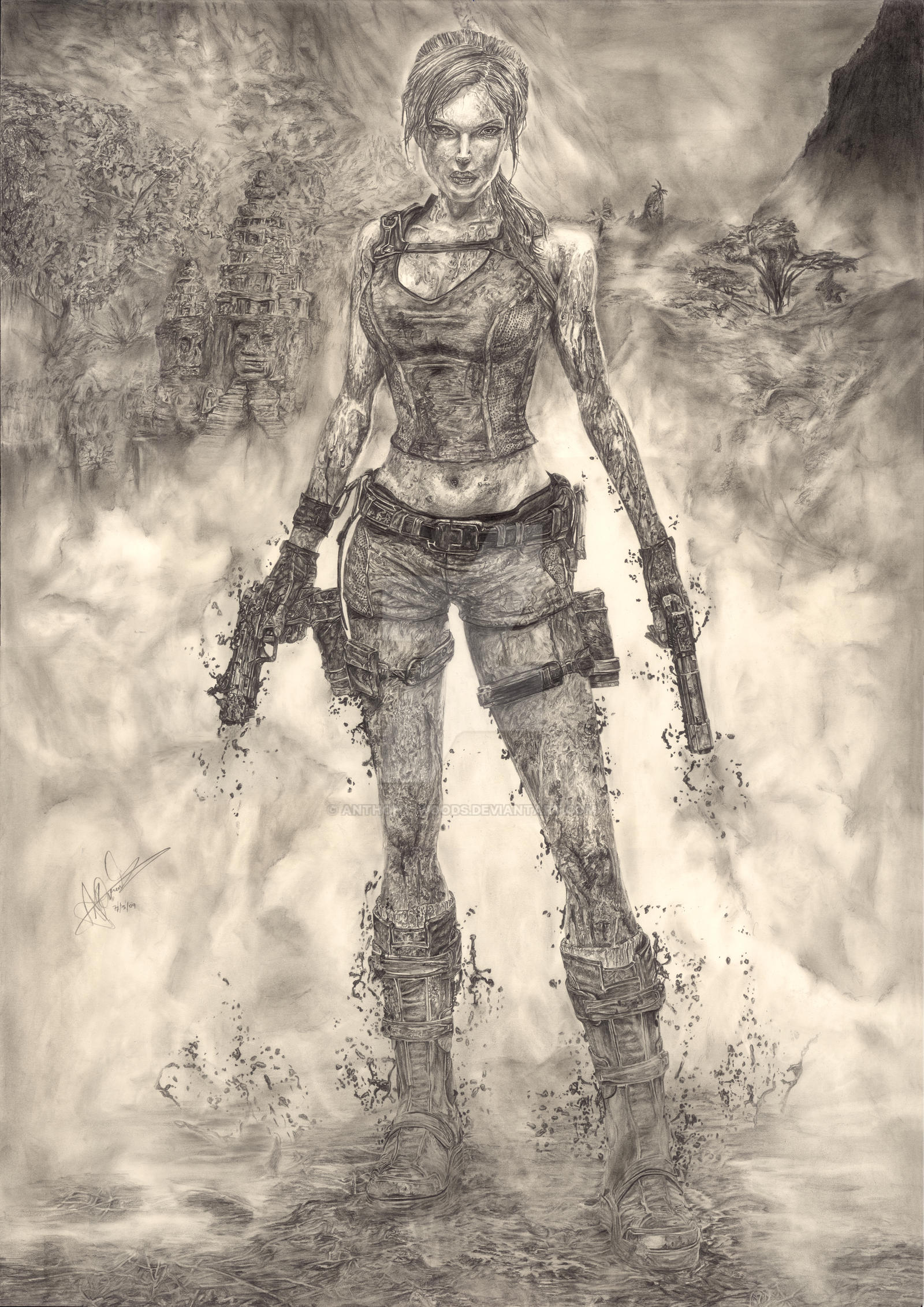 Lara Croft - Tomb Raider by Anthony-Woods