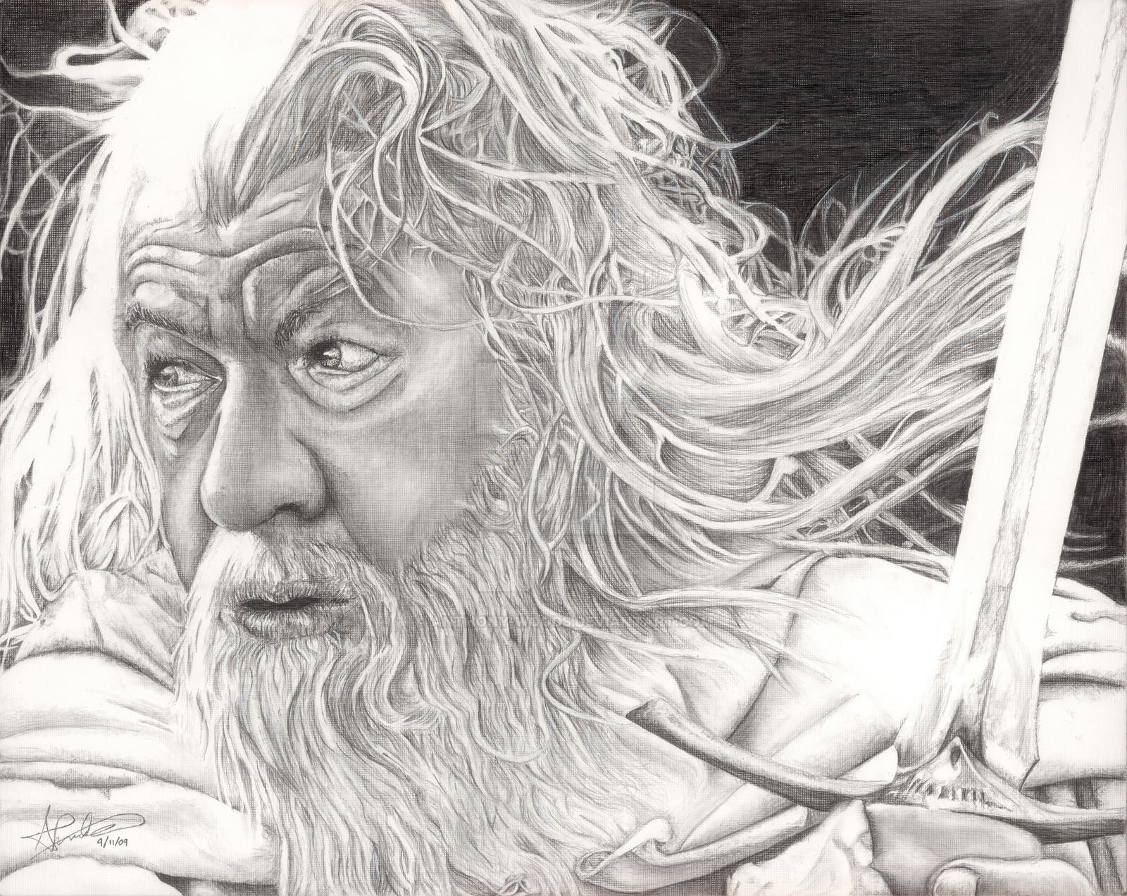 Gandalf - Sir Ian McKellen by Anthony-Woods