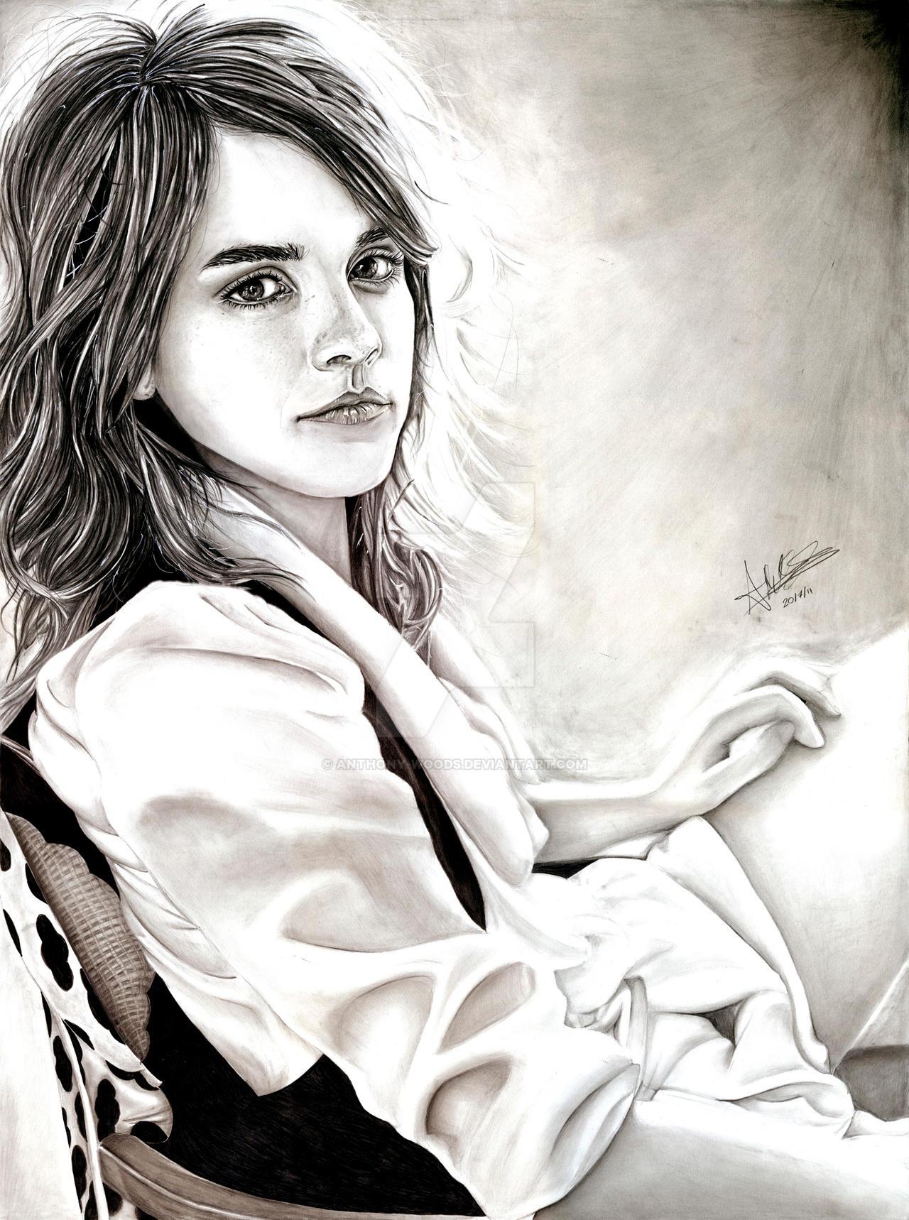 Emma Watson by Anthony-Woods