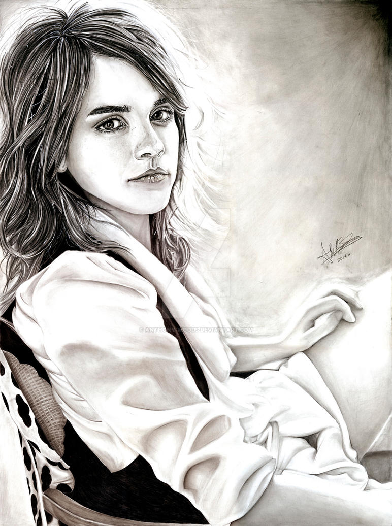Emma Watson by Anthony-Woods