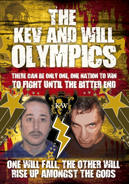 The Kev and Will Olympics - VOTE NOW by Anthony-Woods
