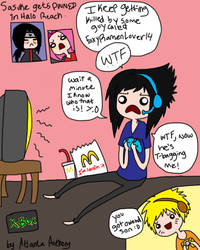 Sasuke fails at Halo Reach by LainaofthesandLOL