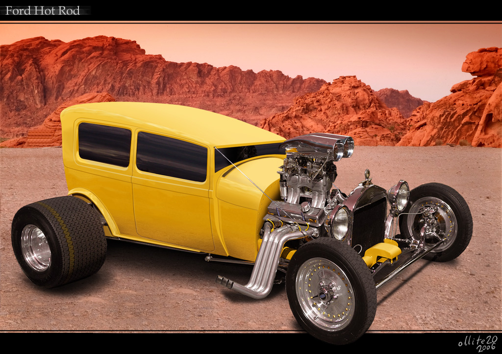 Custom Hot Rods Custom Ford Hot Rod by...