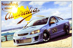 Holden SS ute - postcard by ollite20