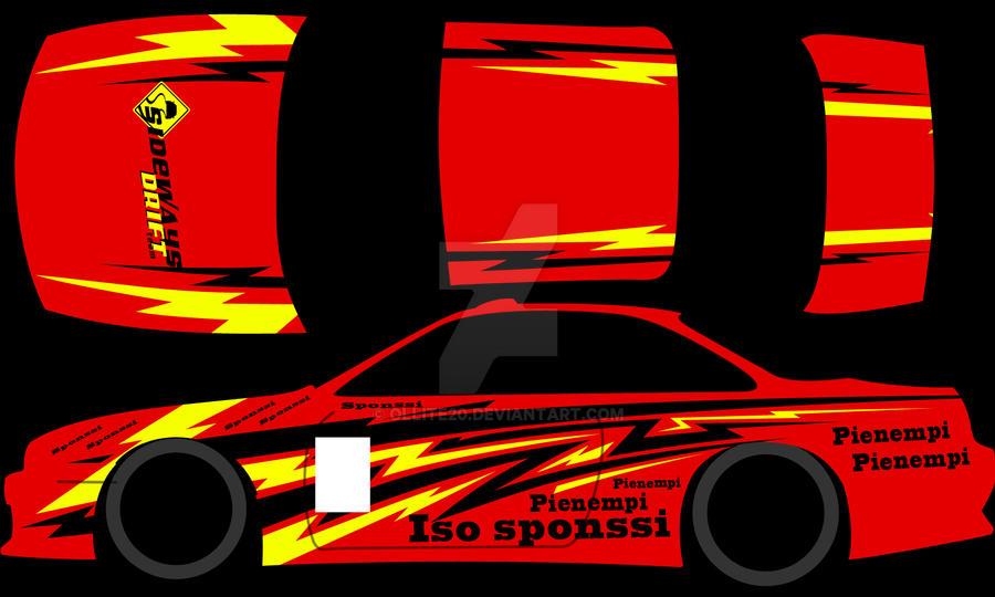 Drift Car Graphics Design By On Deviantart