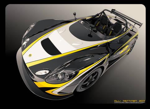 vector Lotus 2-Eleven w video