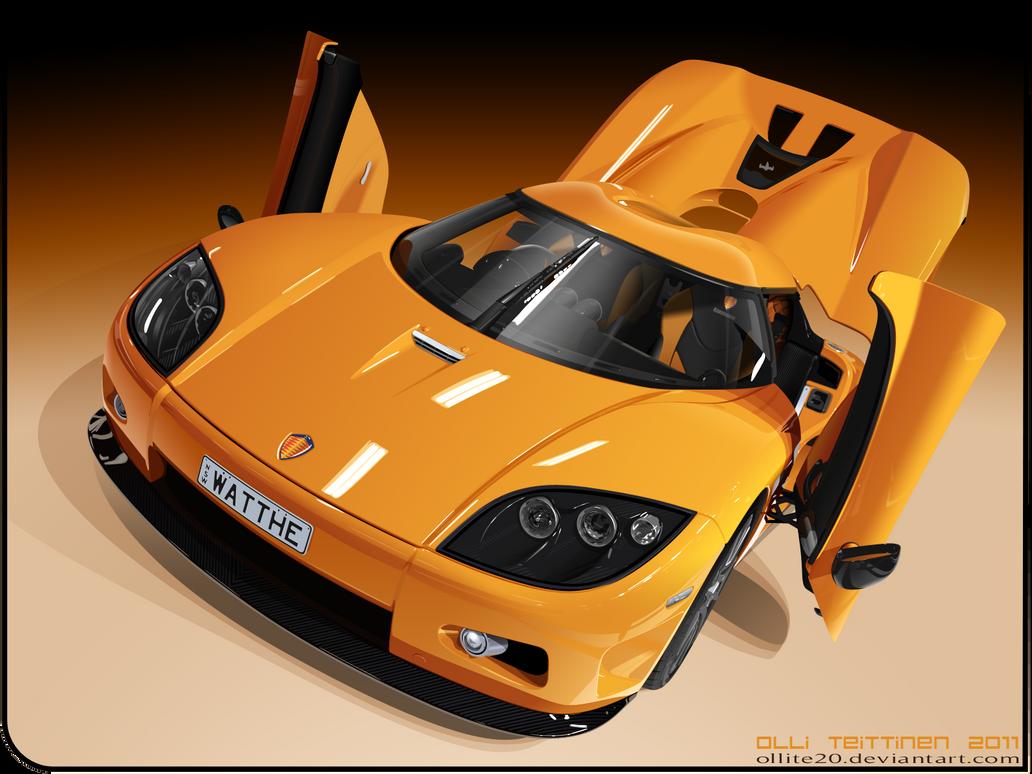 vector Koenigsegg CCX by ollite20