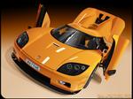 vector Koenigsegg CCX