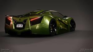 V12 supercar concept - Green Goblin - 9