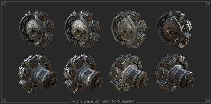 Radial 8 - game model