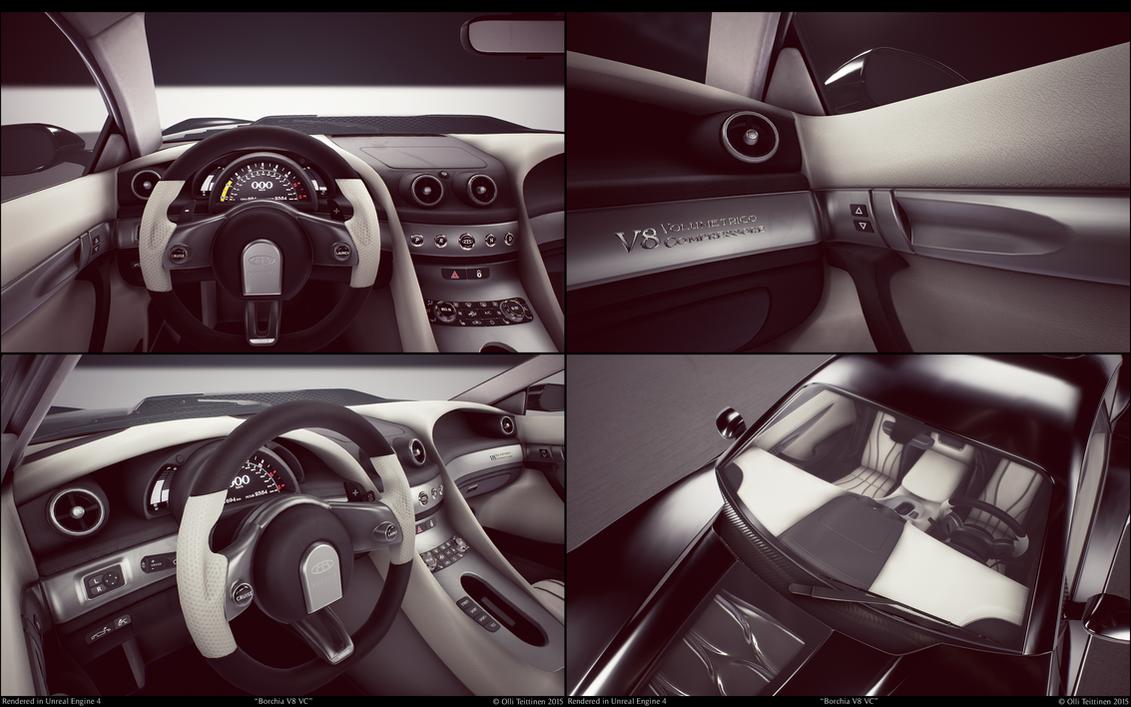 Borchia V8 VC - studio - interior by ollite20