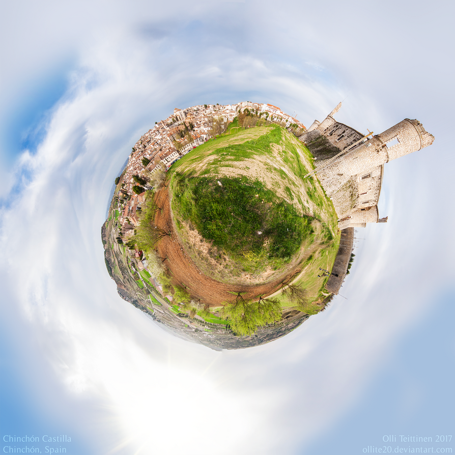 Chinchon Castle 360 by ollite20