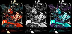 'De Madrid al Ciervo' shirt design
