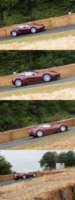 Borchia V8 at the Goodwood Festival of Speed