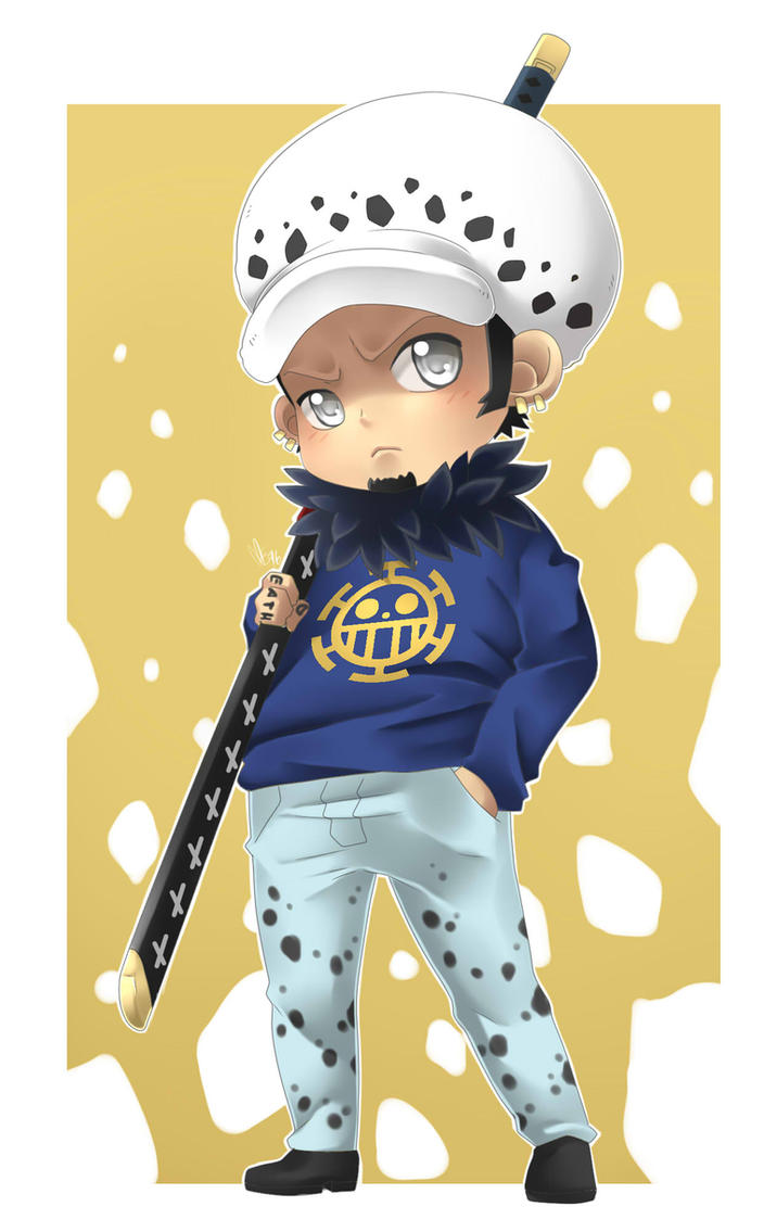 Trafalgar Law - Chibi by multieleonora96 on DeviantArt