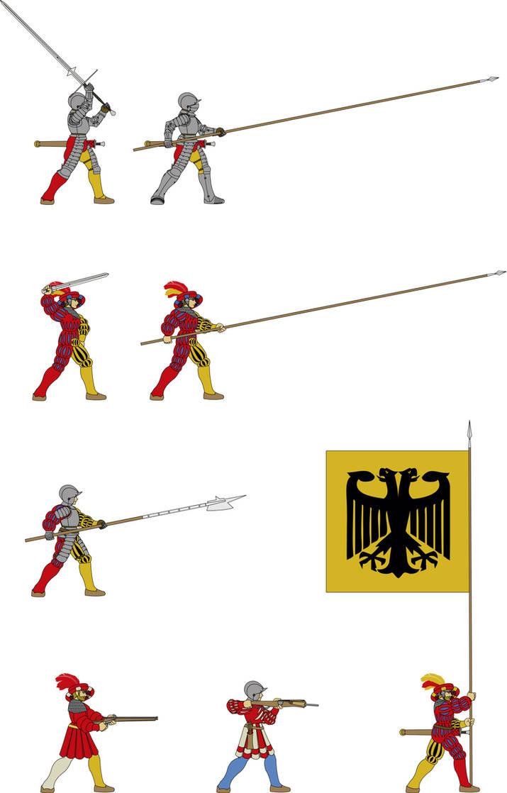 adf6ada723931 Landsknecht - German Mercenary (1500-1550) by Vladarms on DeviantArt