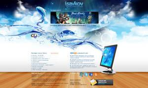 isavkov.net redesign