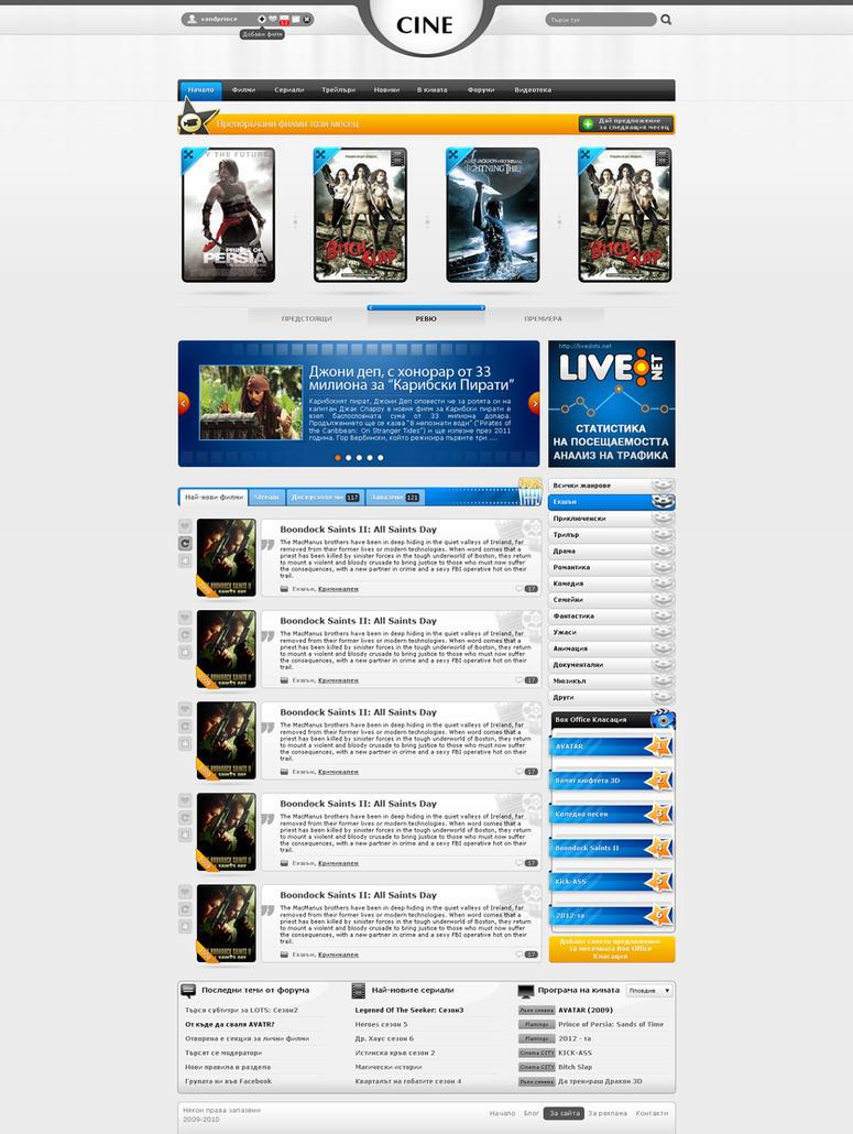 movie web catalog by sandprince on deviantart