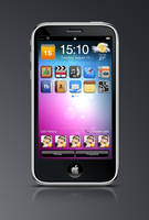 iPhone 4G - my design v2 by sandprince