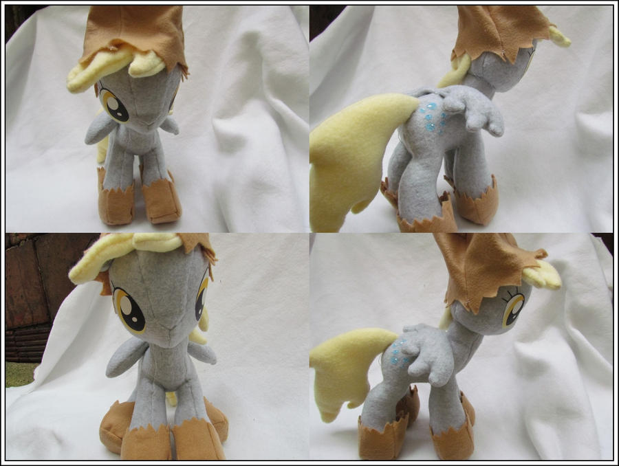 More Views: Night Mare Night Derpy plushie by buttsnstuff
