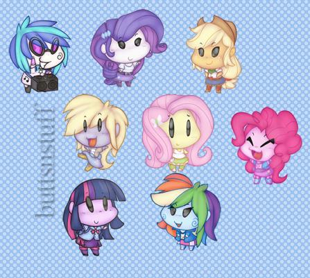 Equestria Girls by buttsnstuff