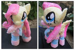 Fluttershy Plushie  with socks