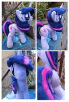 Alicorn Twilight Sparkle by buttsnstuff