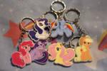 Mane Six Keychains
