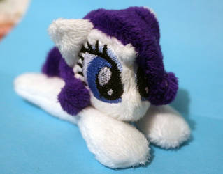 Rarity Mini Beanie (For Sale) by buttsnstuff