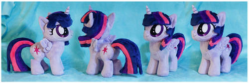 Filly Twilight Plush by buttsnstuff