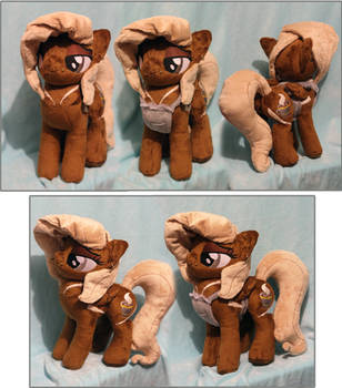 Mocha Macchiato OC Custom Plush by buttsnstuff