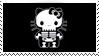 Emo kitty by HisPaperAngel