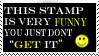 This stamp is funny by HisPaperAngel