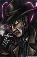 Fallout Portrait - Nick Valentine by OliverDemers