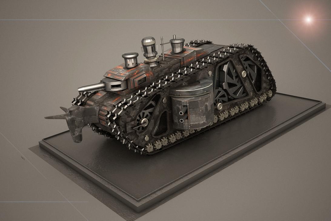 Dieselpunk Weapons Dieselpunk dreadnought 1 byDieselpunk Weapons
