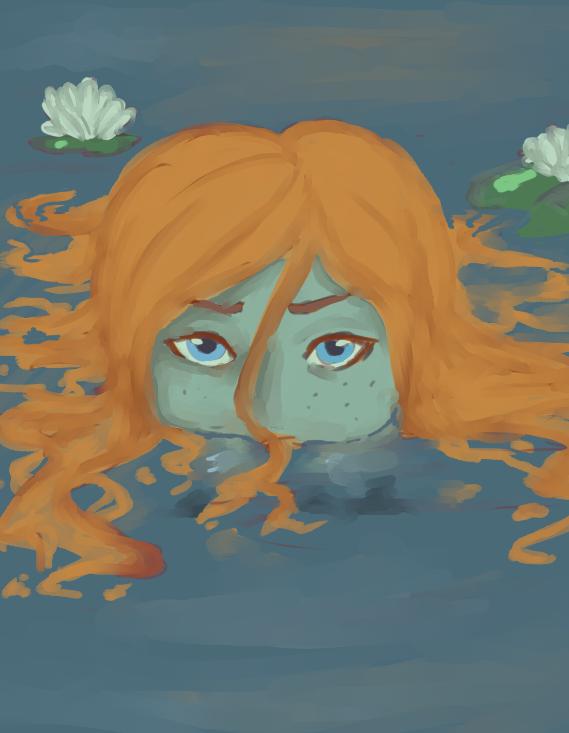 Drowned beauty by Janttuman