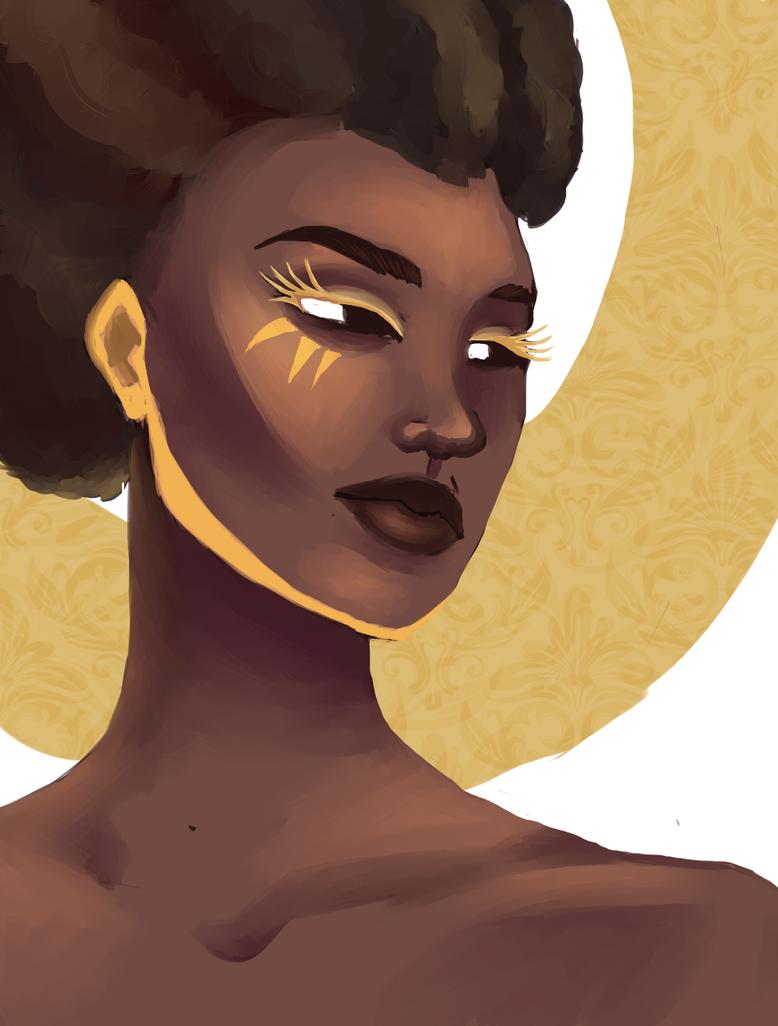 Sun Queen Yohanna by Janttuman