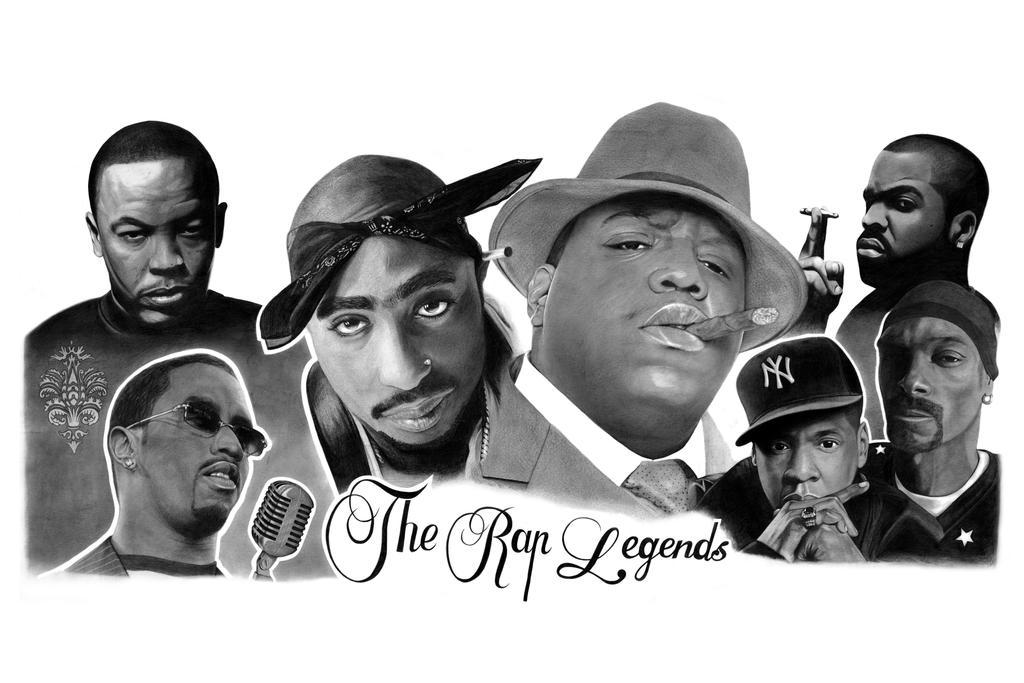 The rap legends by ca5per