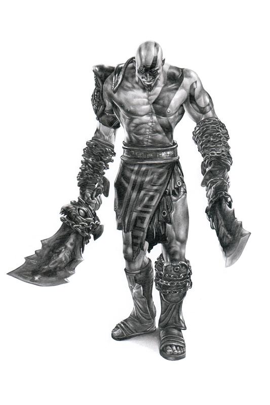 Kratos By Ca5per On Deviantart