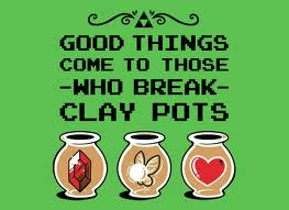 Zelda Clay Pots by Dragonxtom