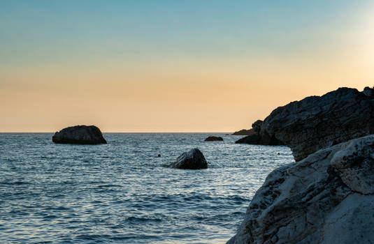 Sea in Montenegro