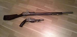 WIP Kurumi Tokisaki Weapons