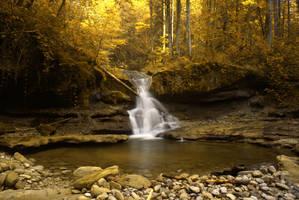 Golden Cascade by kkeman