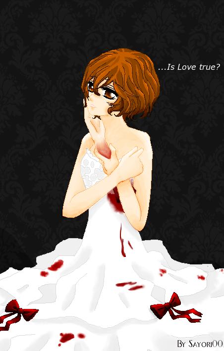 """...Is Love true?"" request by Sayori00"