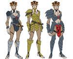 colored version of Pumyra armor sketches