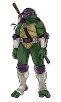 ninja turtles next mutation sketch of Donatello