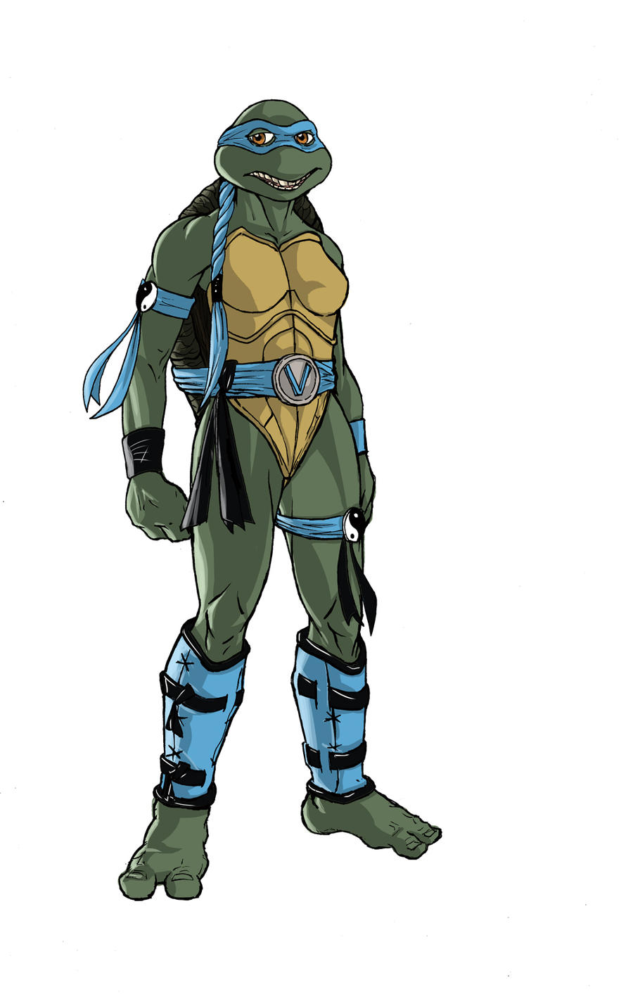 ninja turtles next mutation sketch of Venus