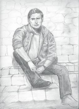 Dean sitting wip