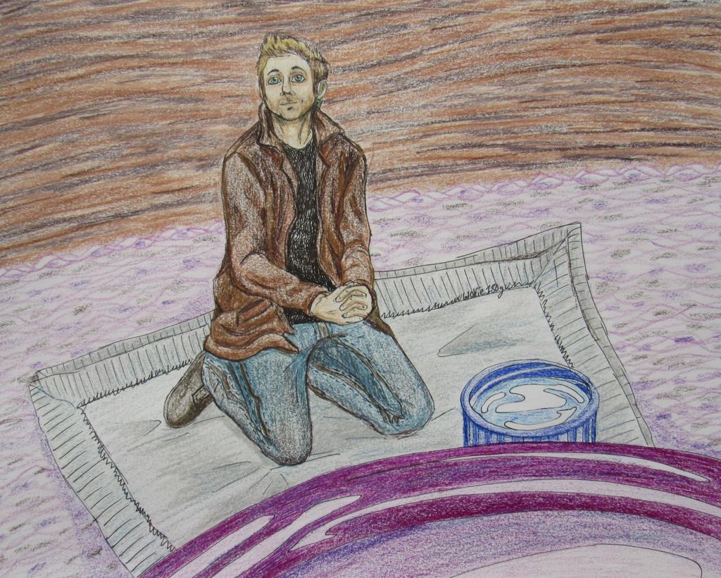 Dean Waiting For Dinner