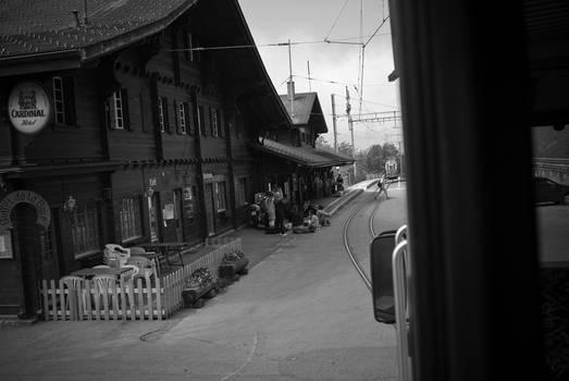 riding tram